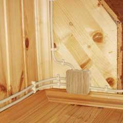 Провода ЭКО для деревянных домов